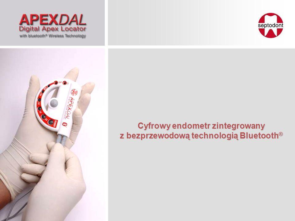 Cyfrowy endometr zintegrowany z bezprzewodową technologią Bluetooth®