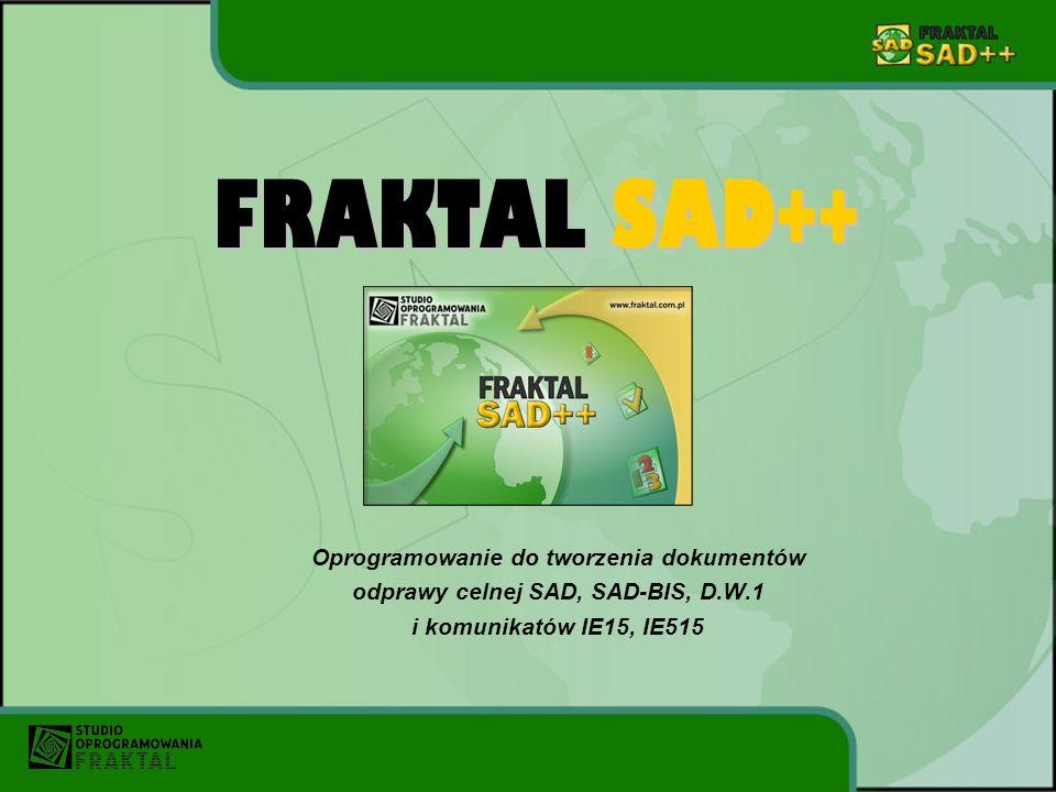 FRAKTAL SAD++ Oprogramowanie do tworzenia dokumentów