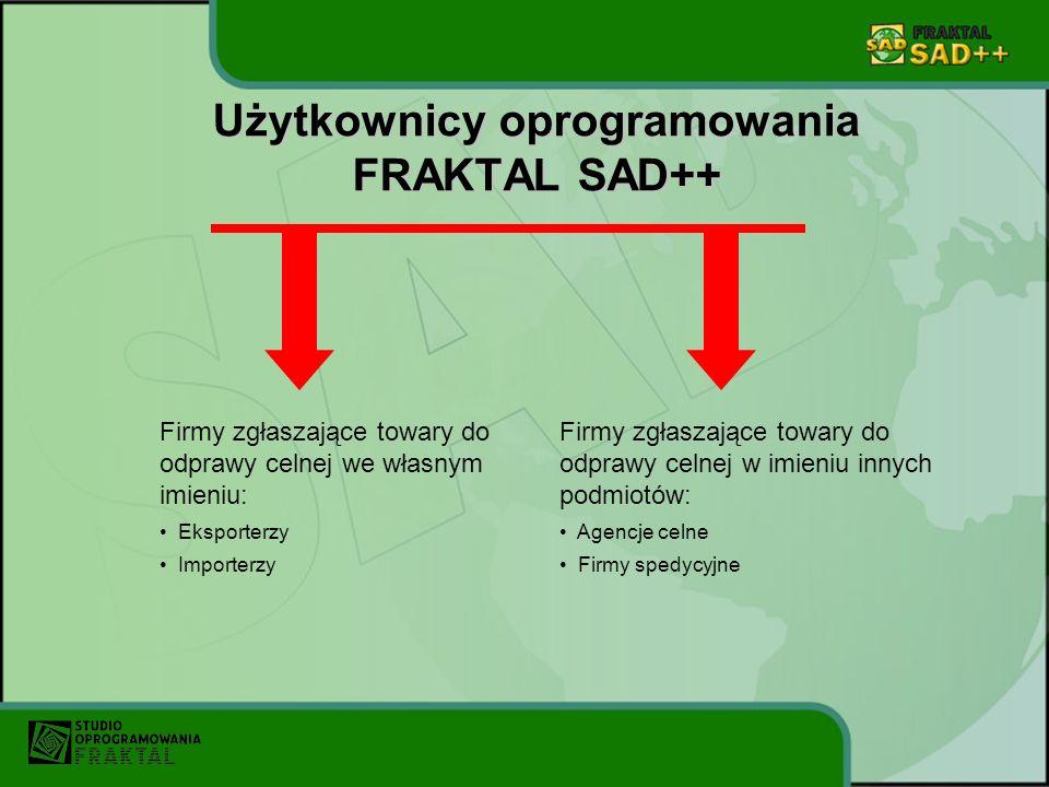 Użytkownicy oprogramowania FRAKTAL SAD++