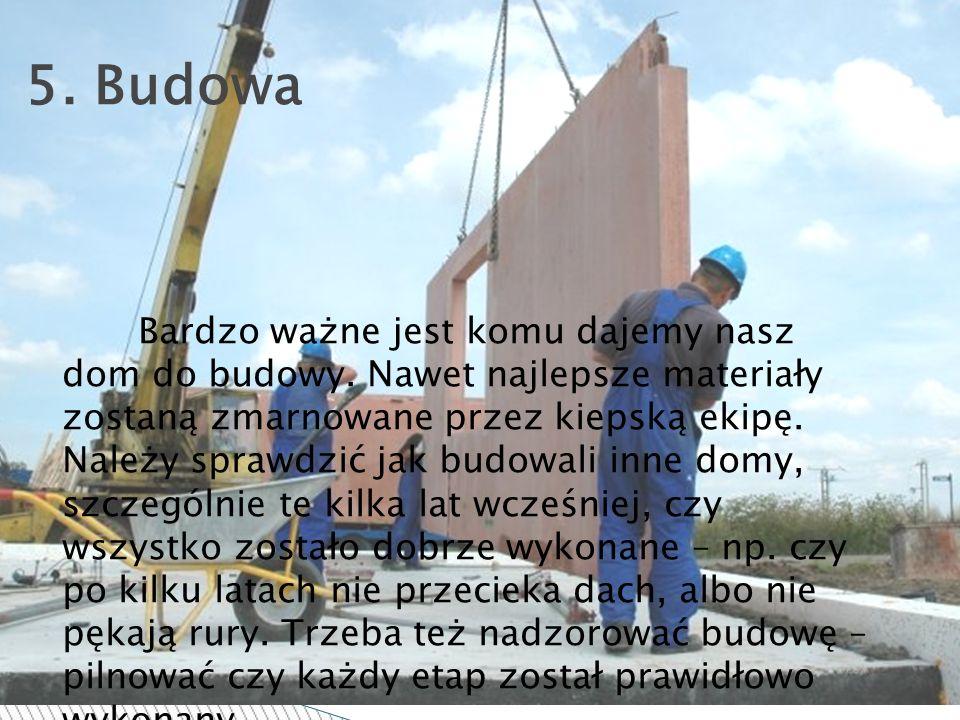 5. Budowa