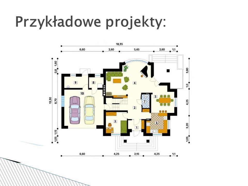 Przykładowe projekty: