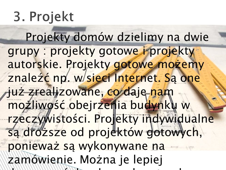 3. Projekt