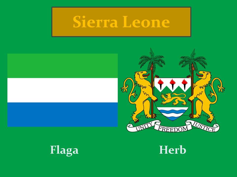 Sierra Leone Flaga Herb