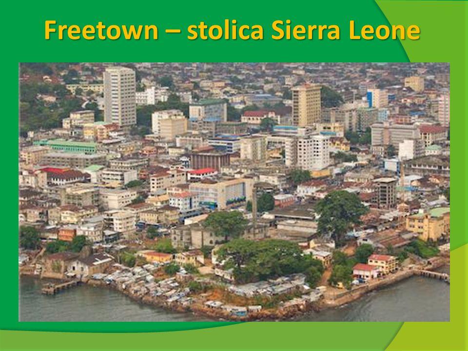 Freetown – stolica Sierra Leone