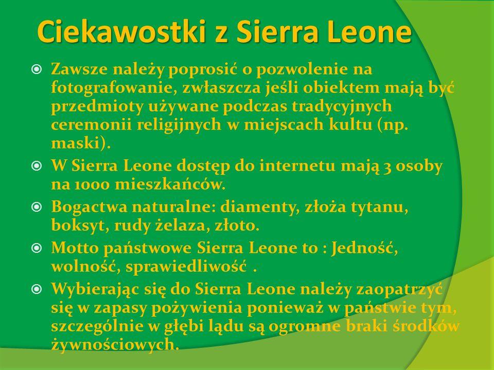 Ciekawostki z Sierra Leone