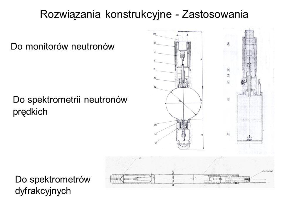 Rozwiązania konstrukcyjne - Zastosowania