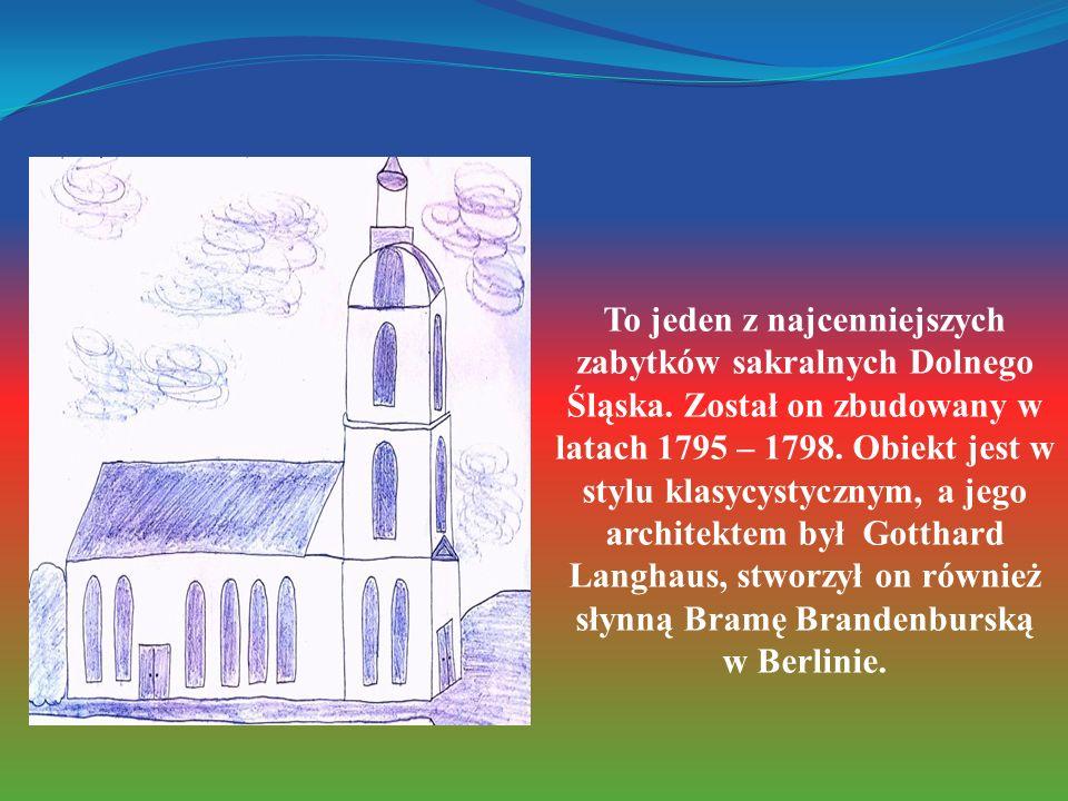 To jeden z najcenniejszych zabytków sakralnych Dolnego Śląska