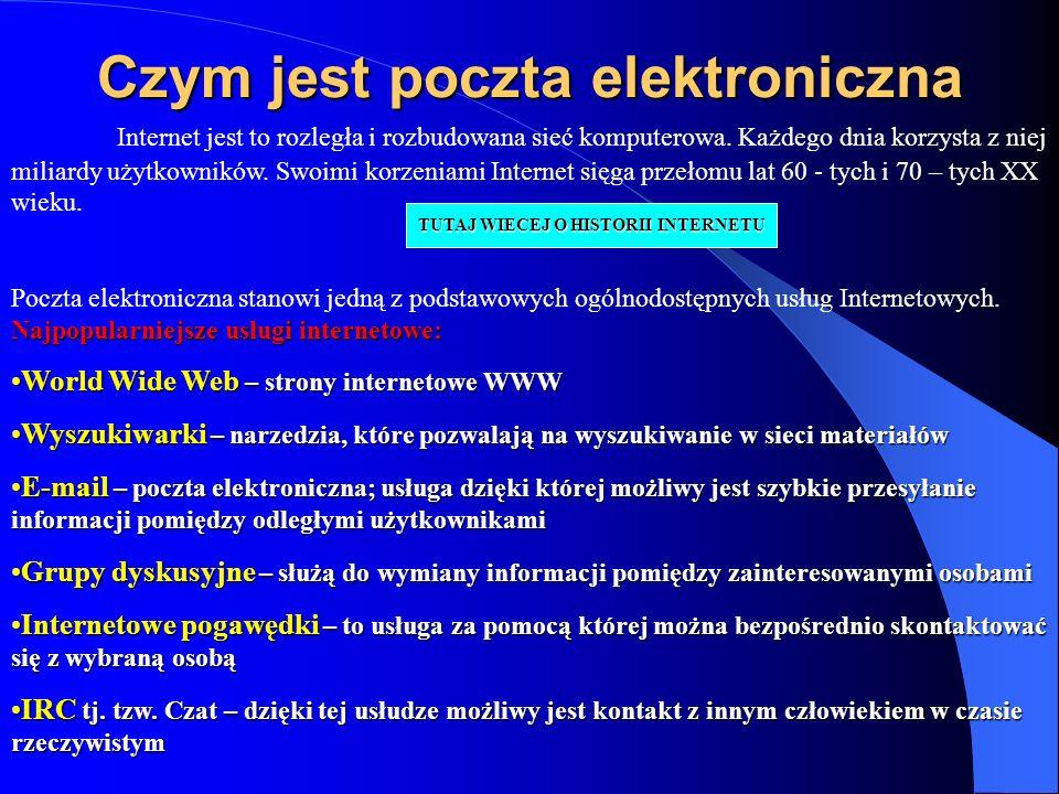 Czym jest poczta elektroniczna