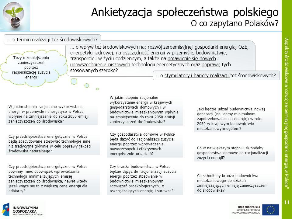 Ankietyzacja społeczeństwa polskiego O co zapytano Polaków