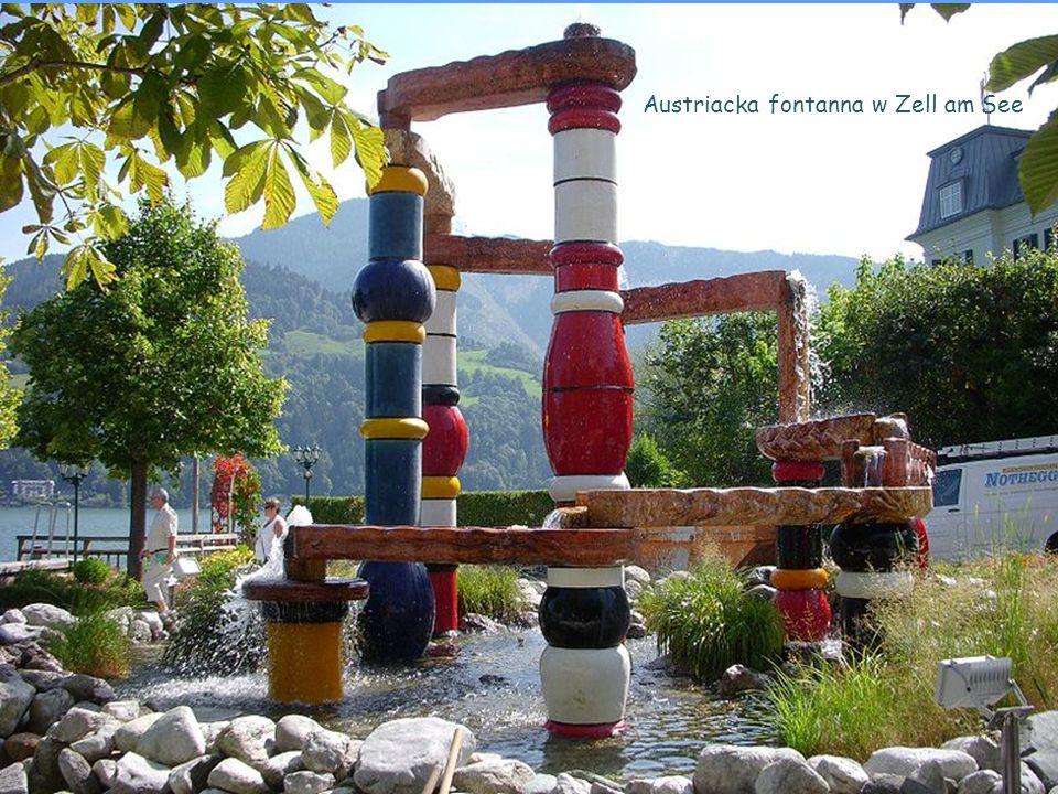 Austriacka fontanna w Zell am See