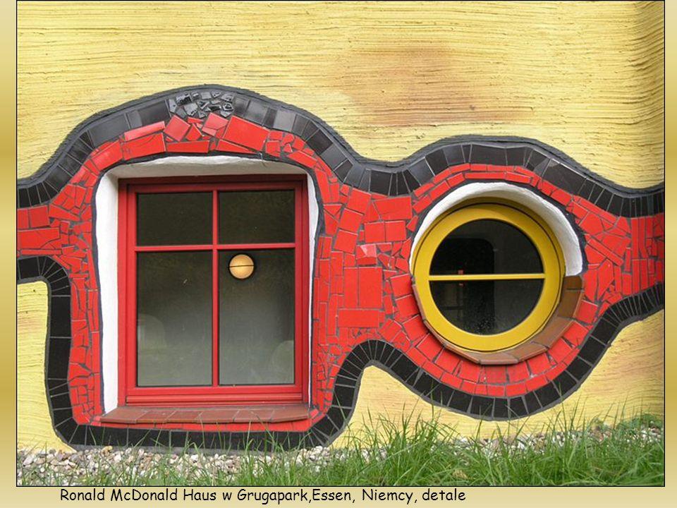 Ronald McDonald Haus w Grugapark,Essen, Niemcy, detale