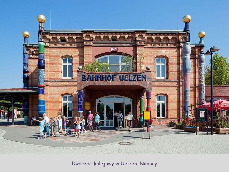 Dworzec kolejowy w Uelzen, Niemcy