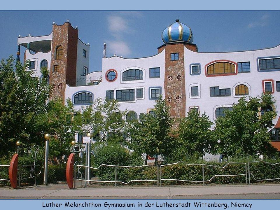 Luther-Melanchthon-Gymnasium in der Lutherstadt Wittenberg, Niemcy