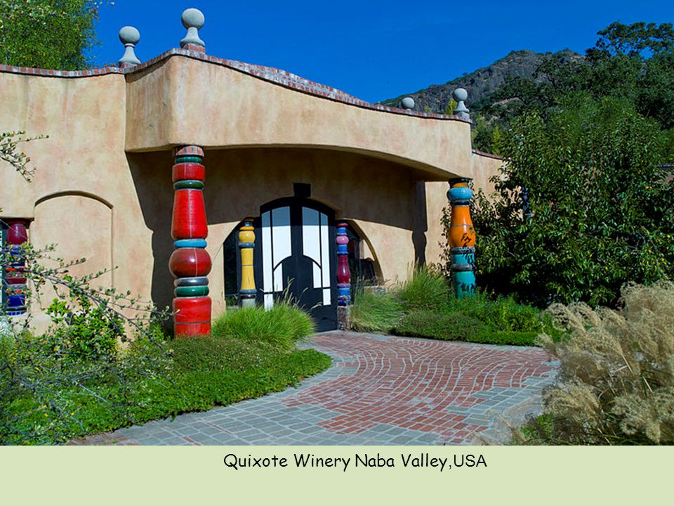 Quixote Winery Naba Valley,USA