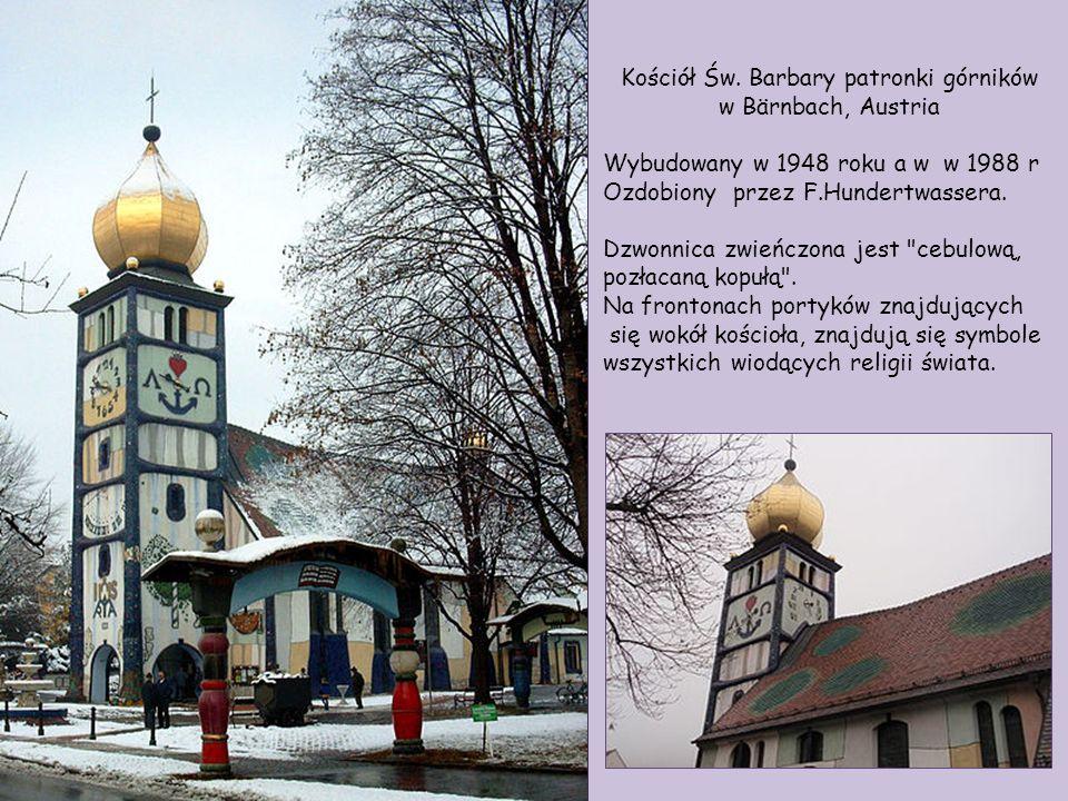 Kościół Św. Barbary patronki górników