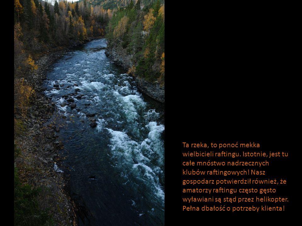 Ta rzeka, to ponoć mekka wielbicieli raftingu