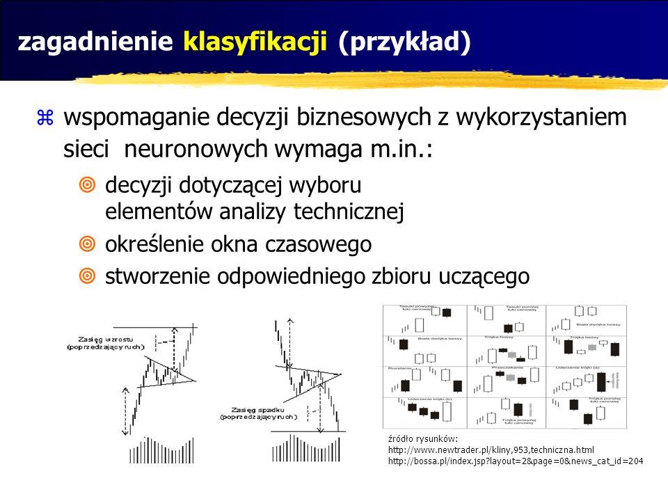 zagadnienie klasyfikacji (przykład)