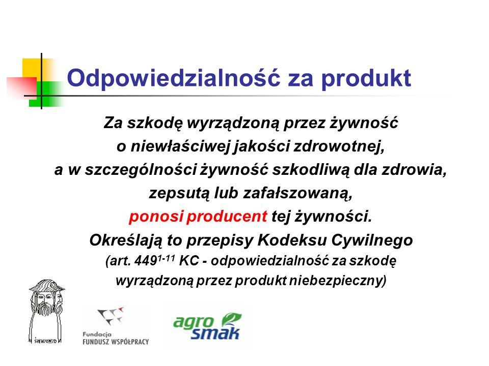 Odpowiedzialność za produkt