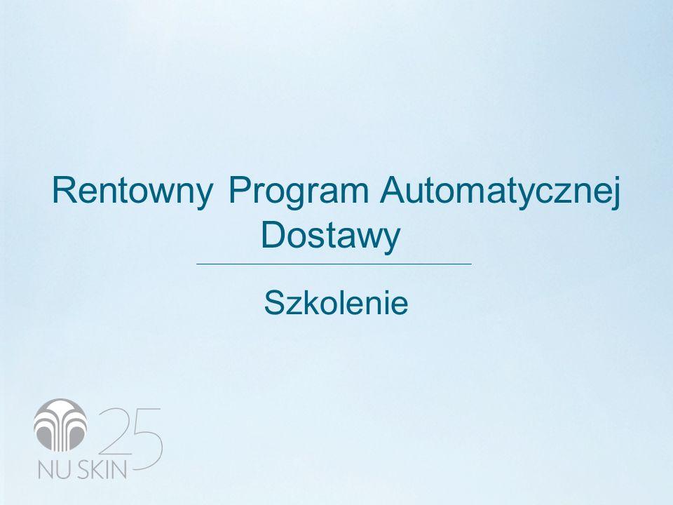 Rentowny Program Automatycznej Dostawy