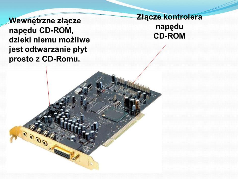 Złącze kontrolera napędu CD-ROM