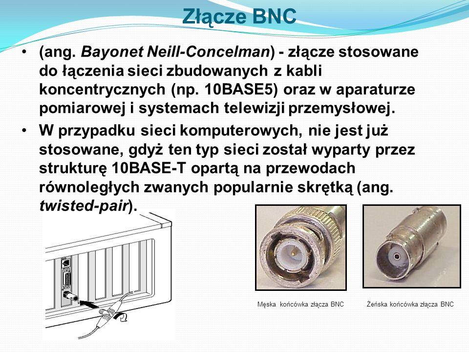 Złącze BNC