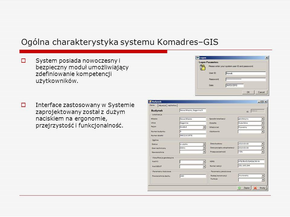 Ogólna charakterystyka systemu Komadres–GIS