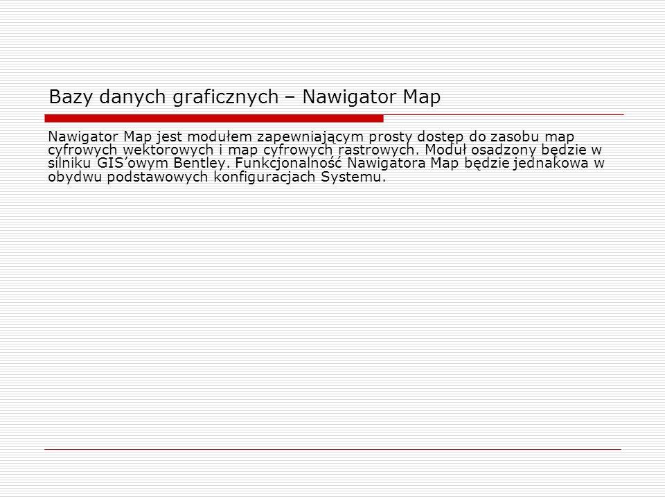 Bazy danych graficznych – Nawigator Map