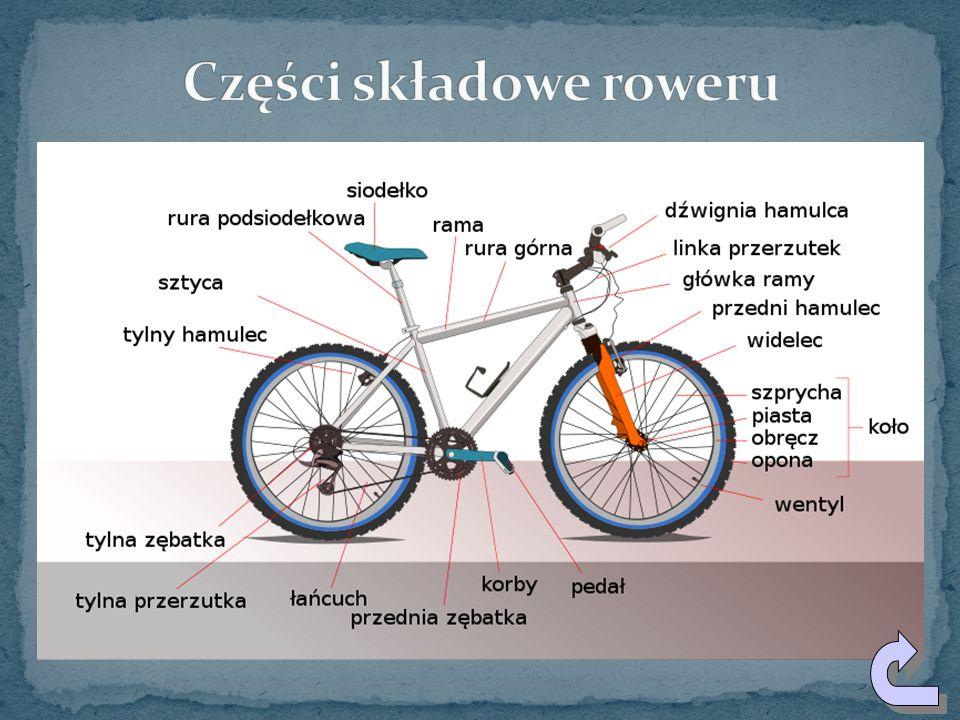 Części składowe roweru