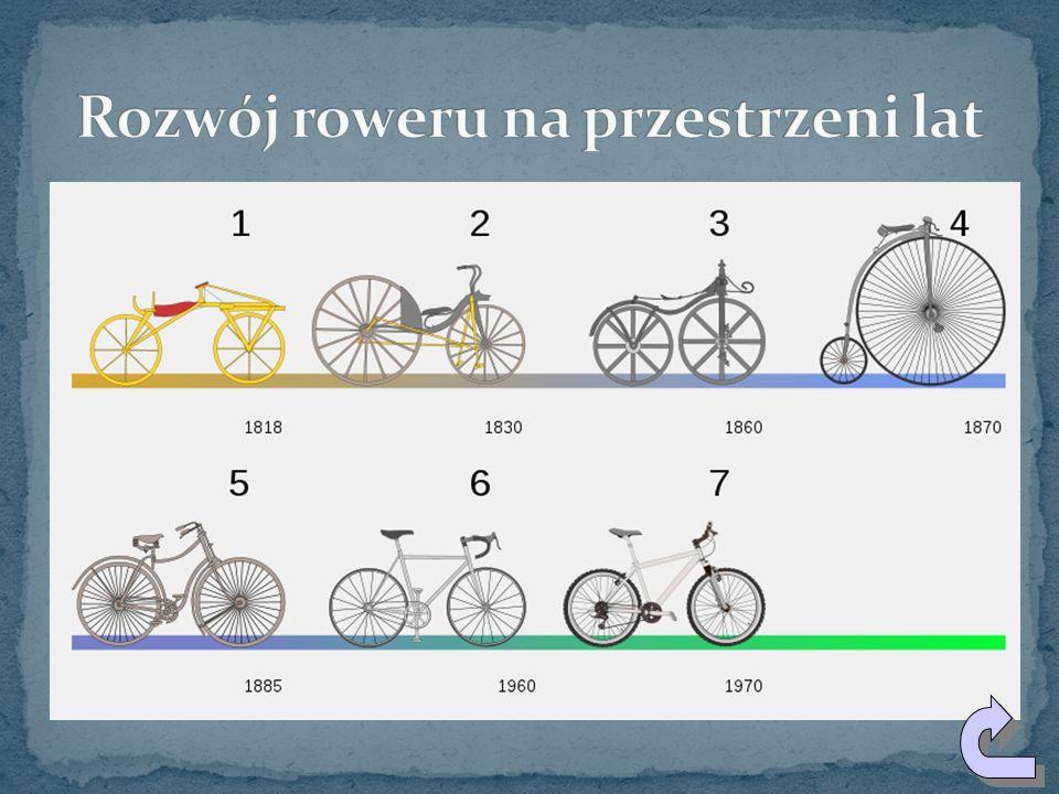 Rozwój roweru na przestrzeni lat