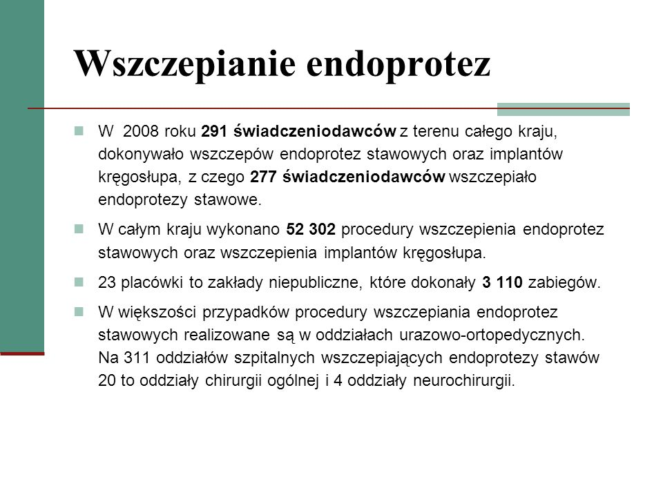 Wszczepianie endoprotez