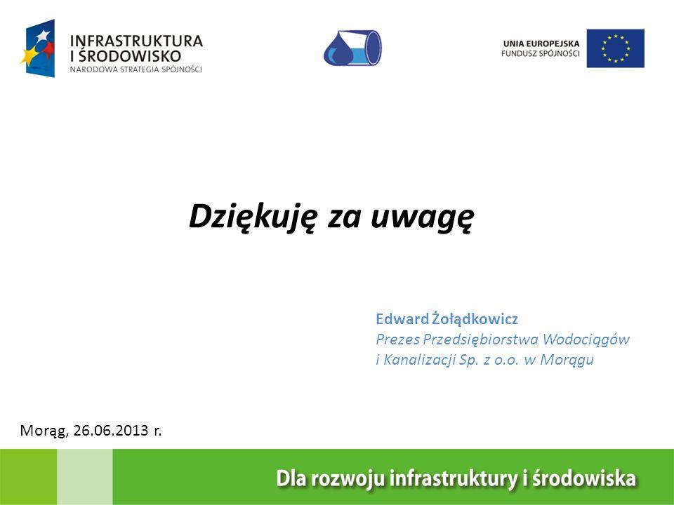 Dziękuję za uwagę Edward Żołądkowicz