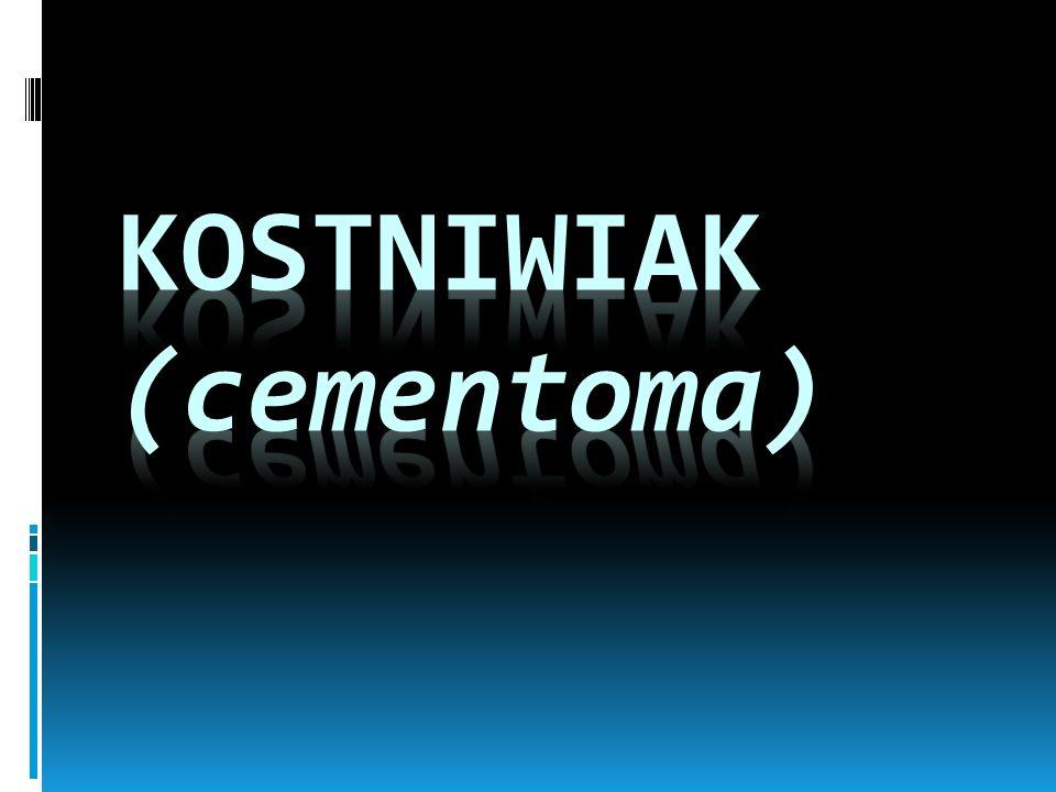 Kostniwiak (cementoma)