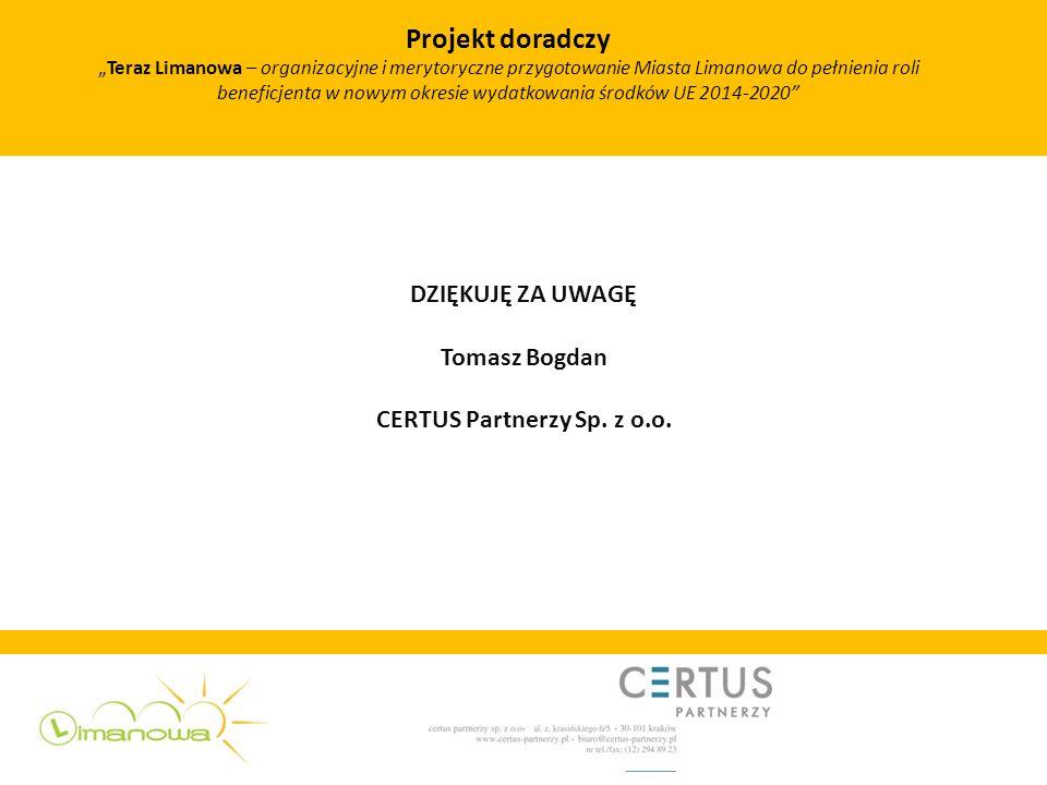 CERTUS Partnerzy Sp. z o.o.