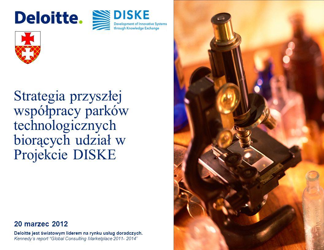 Strategia przyszłej współpracy parków technologicznych biorących udział w Projekcie DISKE