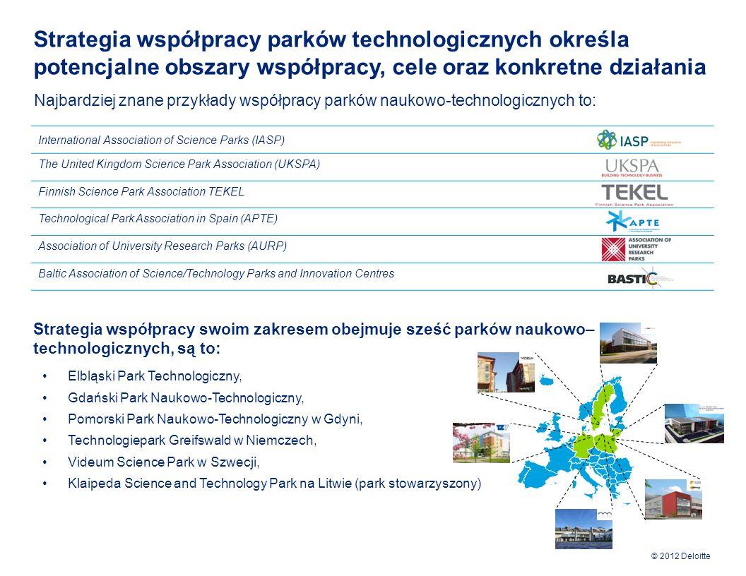 Strategia współpracy parków technologicznych określa potencjalne obszary współpracy, cele oraz konkretne działania