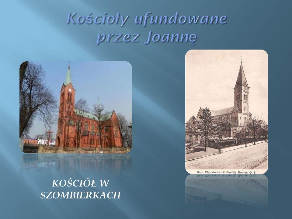 Kościoły ufundowane przez Joannę
