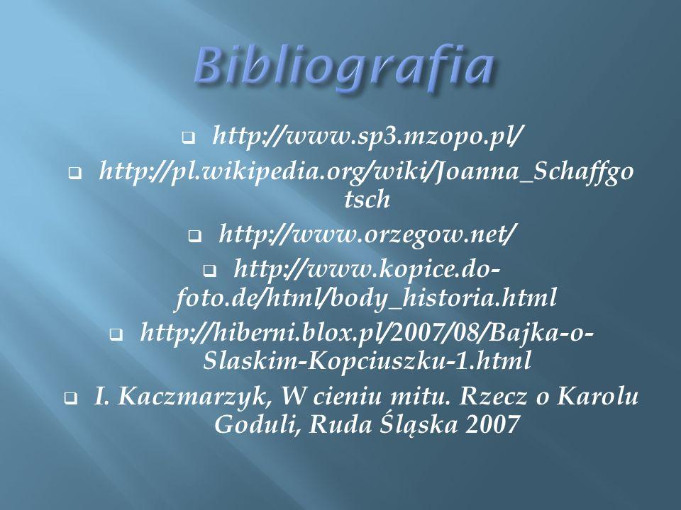 I. Kaczmarzyk, W cieniu mitu. Rzecz o Karolu Goduli, Ruda Śląska 2007