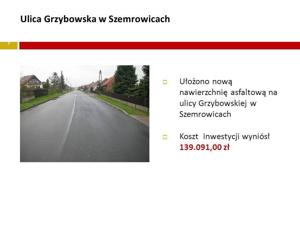 Koszt inwestycji wyniósł 139.091,00 zł