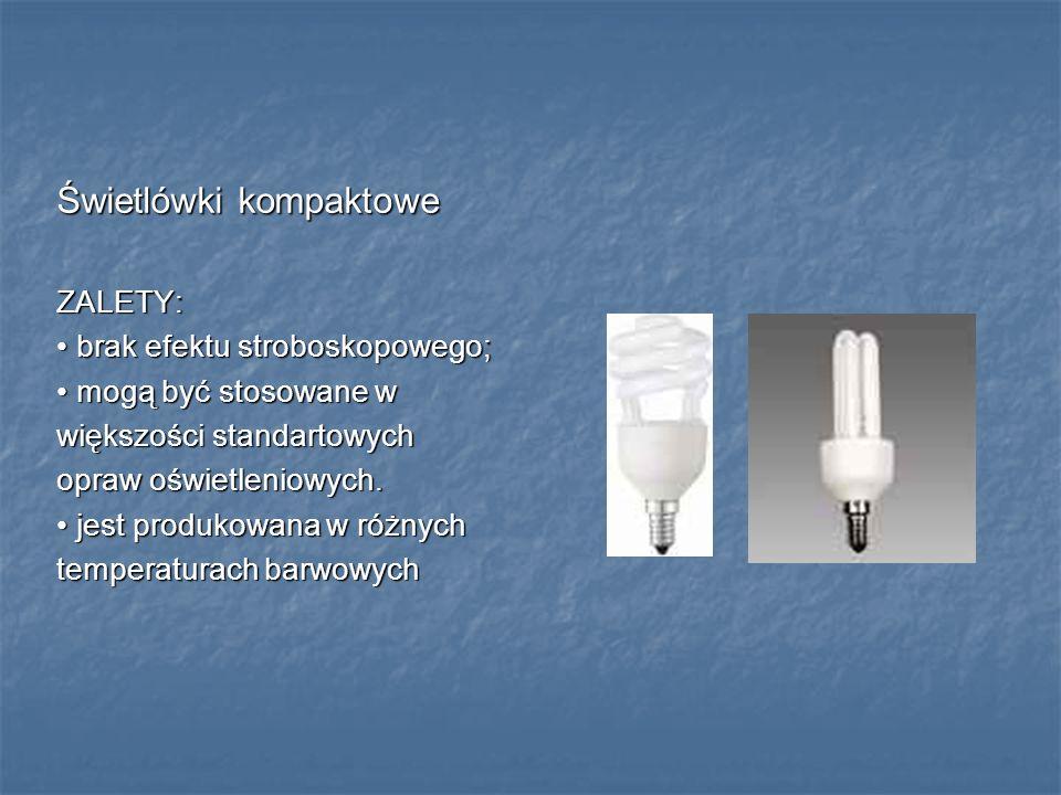 Świetlówki kompaktowe