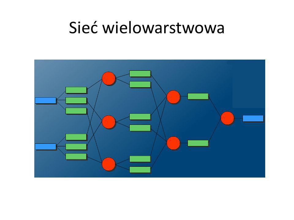 Sieć wielowarstwowa