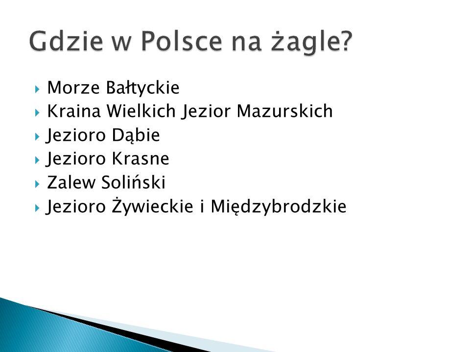 Gdzie w Polsce na żagle Morze Bałtyckie