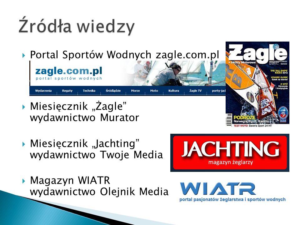 Źródła wiedzy Portal Sportów Wodnych zagle.com.pl