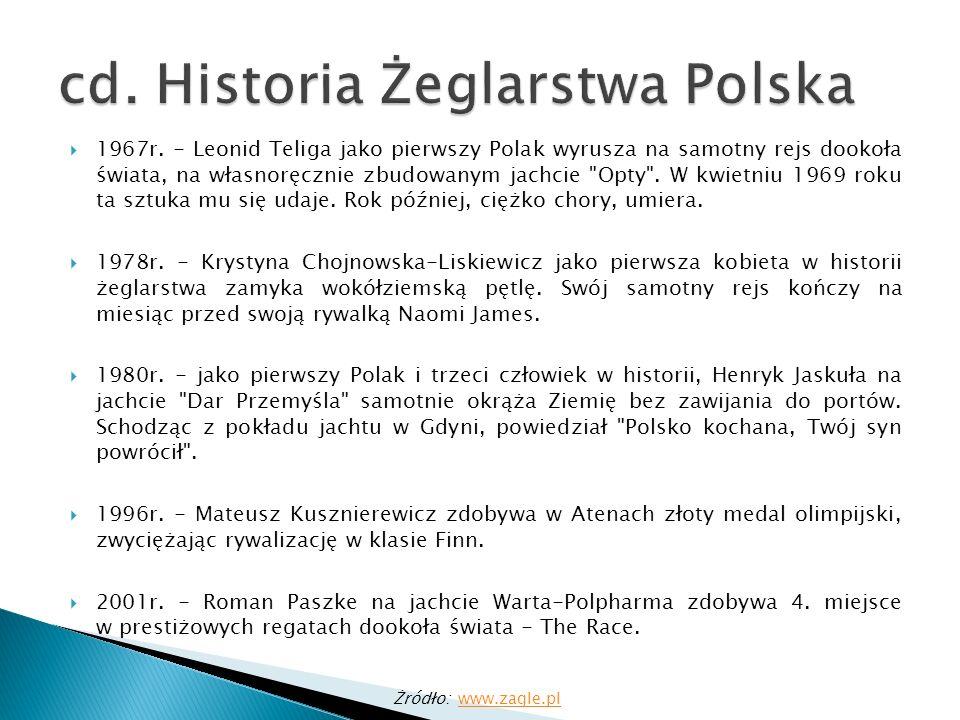 cd. Historia Żeglarstwa Polska
