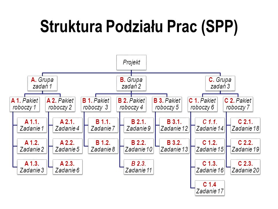 Struktura Podziału Prac (SPP)
