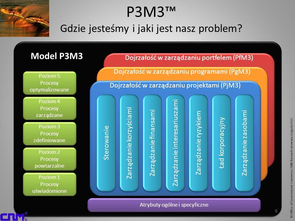 P3M3™ Gdzie jesteśmy i jaki jest nasz problem