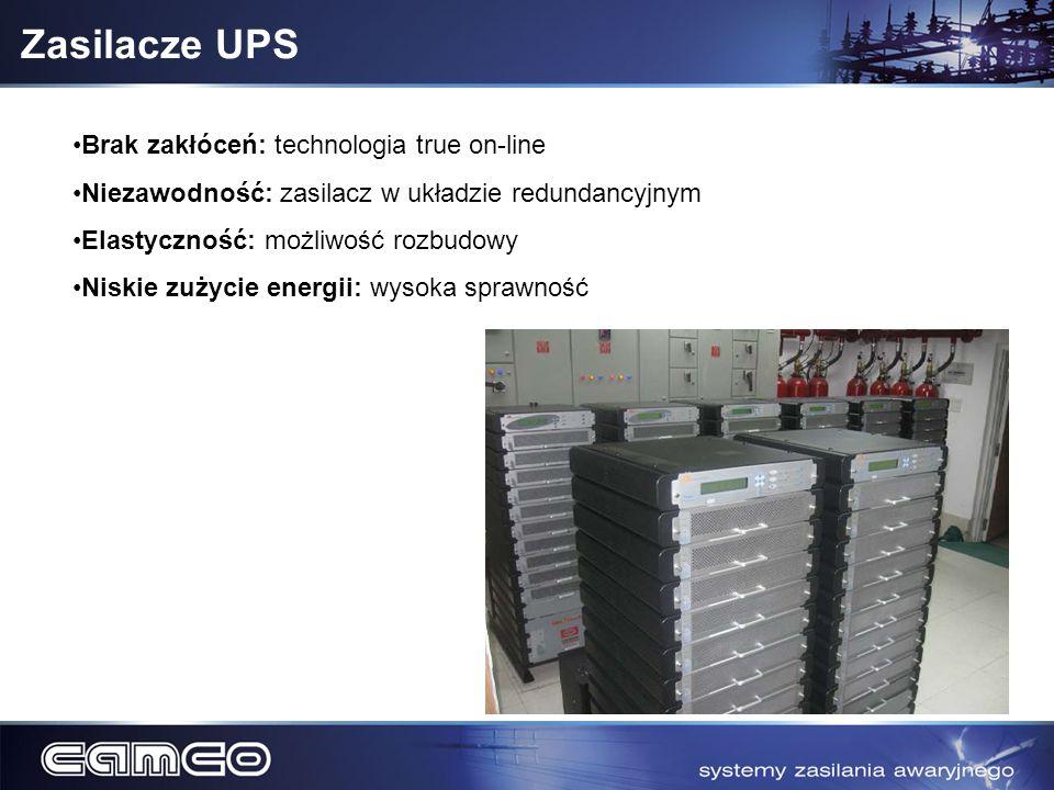 Zasilacze UPS Brak zakłóceń: technologia true on-line