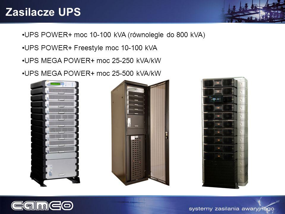 Zasilacze UPS UPS POWER+ moc 10-100 kVA (równolegle do 800 kVA)