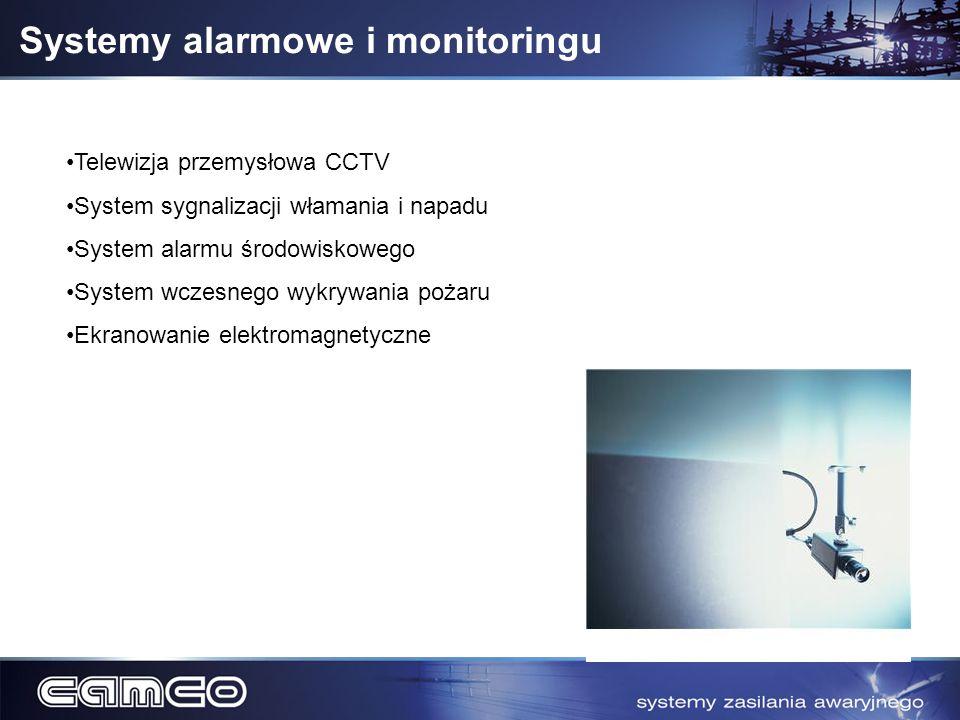 Systemy alarmowe i monitoringu
