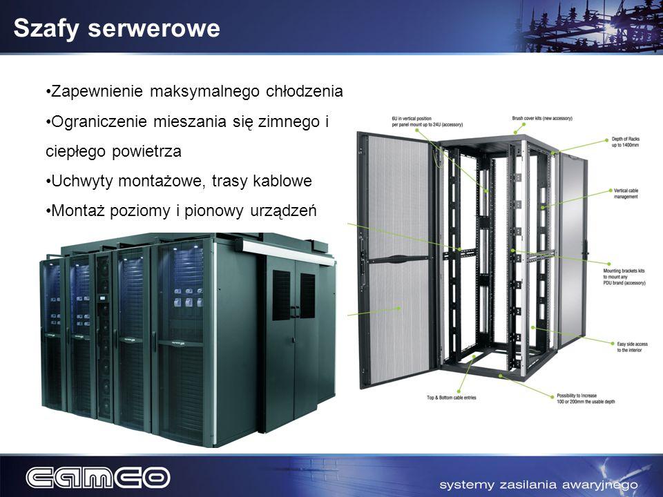 Szafy serwerowe Zapewnienie maksymalnego chłodzenia
