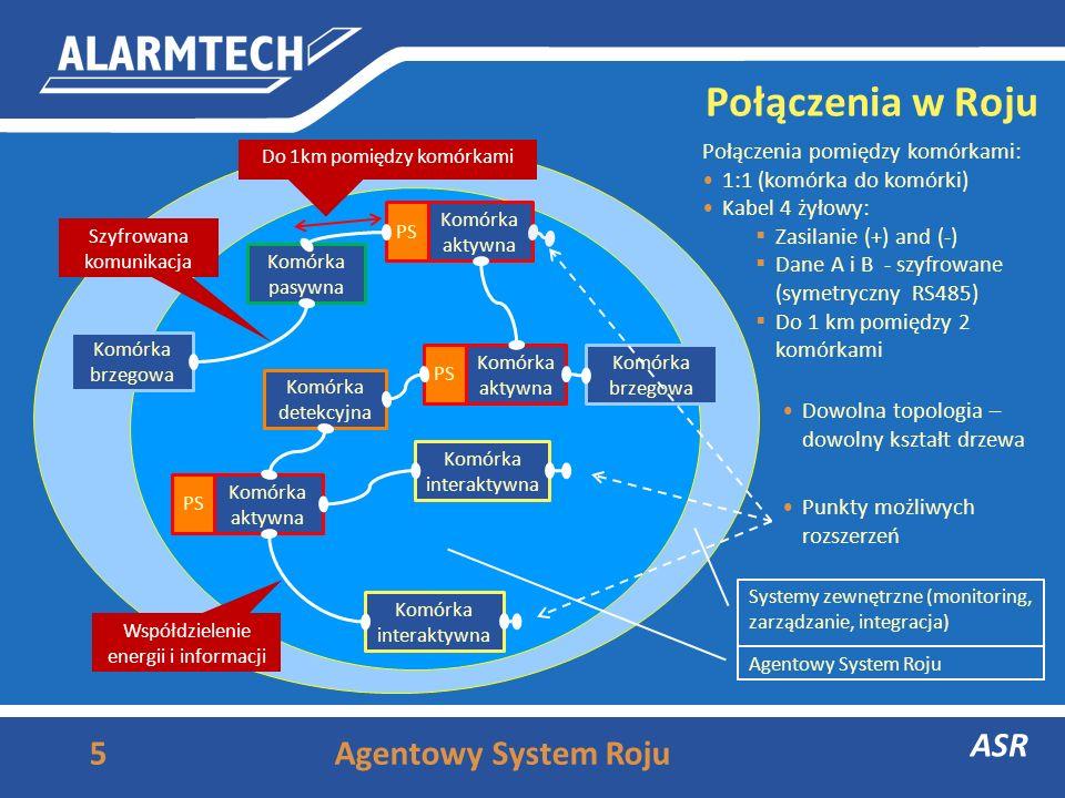 Połączenia w Roju ASR Agentowy System Roju